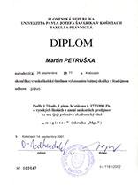 Exekútorský úrad Mgr. Martin Petruška